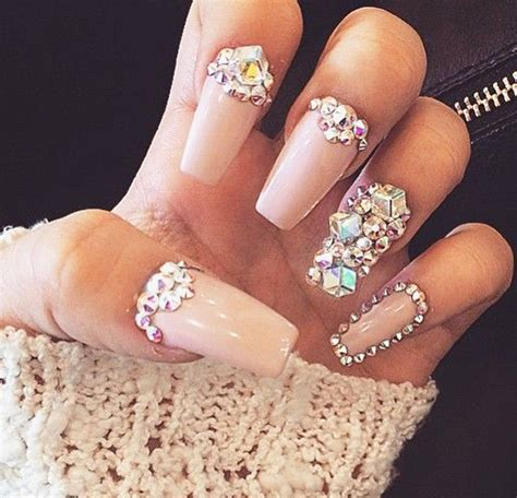 Rhinestone Nails by Best Nail Rhinestones Photos 2017 Blue Maize