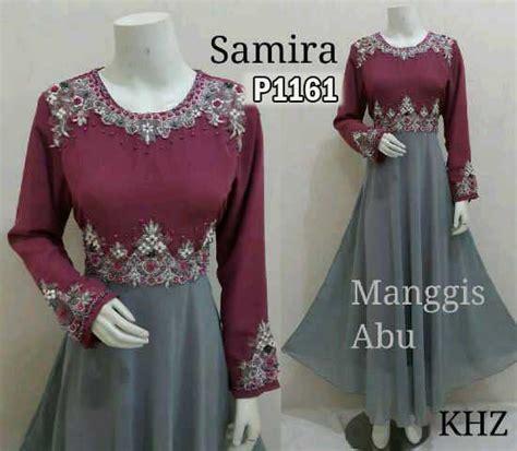 Cantik Syamira Maxi By Melna gamis pesta samira manggis p1161 baju muslim modern