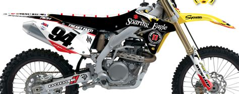 Rch Suzuki Graphics Stellar Mx 2015 Rch Team Graphic Kit Suzuki Bto Sports