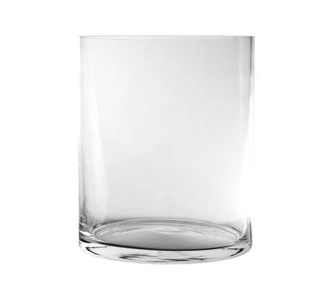 vaso in vetro vasi e decori vasi in vetro cilindrici