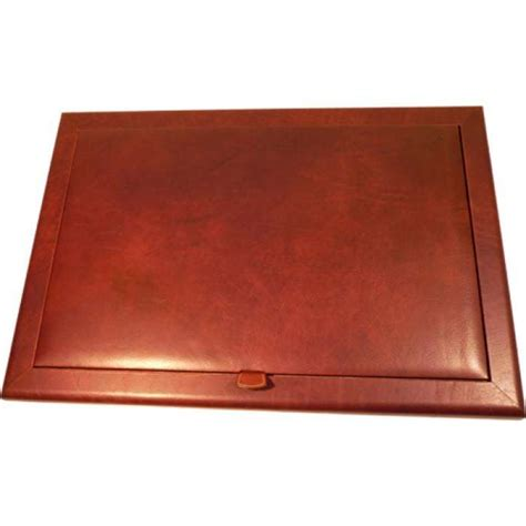 leather desk pad 70548 the old angler shop
