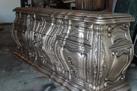 Repainted Kitchen Cabinets silver furniture my most talked about finish the magic