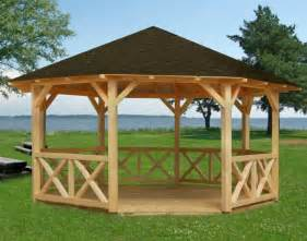 Galerry gazebo designs and blueprints