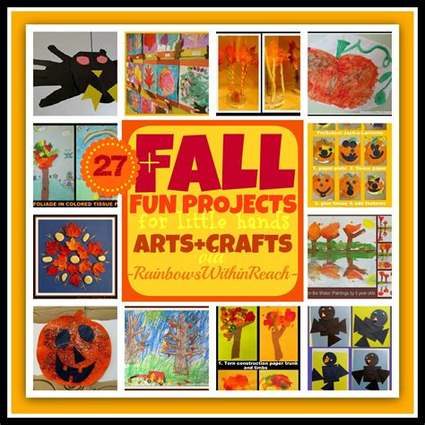 fall craft projects for www rainbowswithinreach