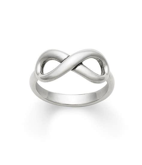 infinity bracelet avery avery infinity sterling silver ring dillards