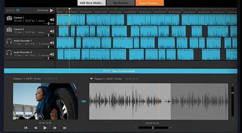 pluraleyes workflow pluraleyes 4 0 major update to audio sync