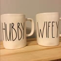 Rae Dunn Mugs by Magenta Rae Dunn Hubby Wifey Cups Mugs Os From Stacey S
