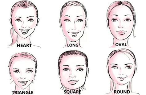 hair and head types how to choose the right hairstyle for your face shape