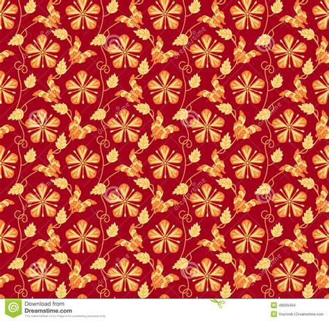 L 876 Beautifull Flower Kimono 1 vintage japanese kimono seamless pattern stock vector