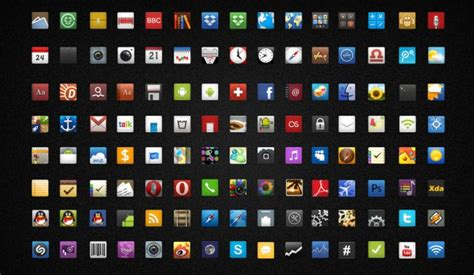 best android icon packs best icon packs for android july 2013