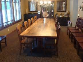 12 Foot Dining Room Tables 12 Foot Dining Room Table Fits 12 To 14 People Comfortably