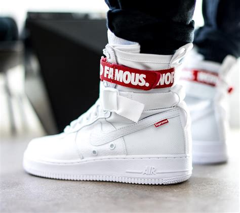 supreme nike air 1 all white supreme x nike special forces air 1