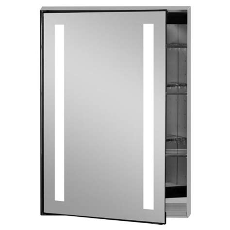 interior lighted medicine cabinet with mirror custom