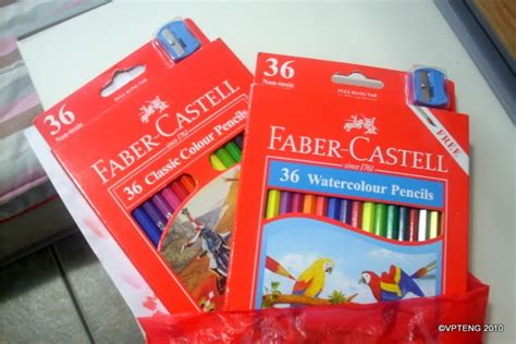Drawing With My Special Faber Castell Colored Pencils