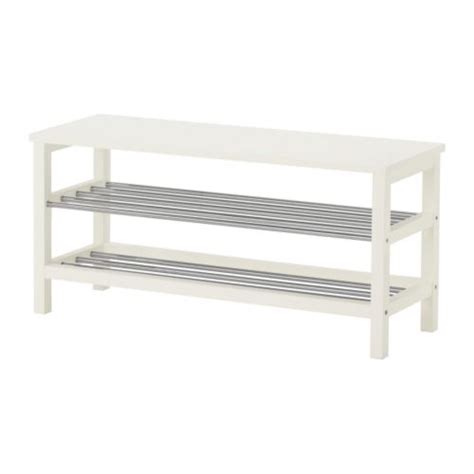 ikea entryway bench tjusig bench with shoe storage white ikea