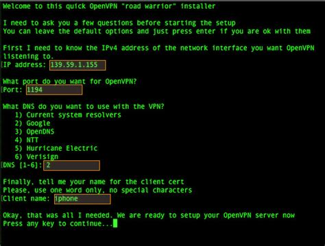 setup ubuntu server as vpn how to setup openvpn server in 5 minutes on ubuntu server