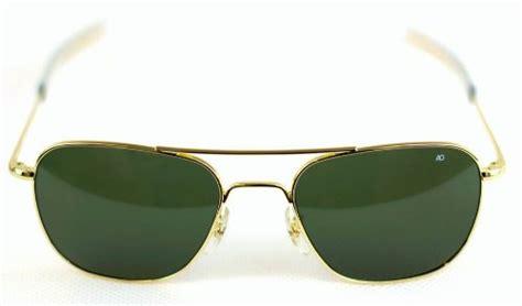 Sunglass Ao American Optical Skymaster Pilot Gold G Diskon ao american optical original pilot sunglasses gold 52mm green lens desertcart