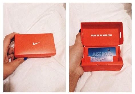 Gift Card Nike - mini nike gift card box on the hunt