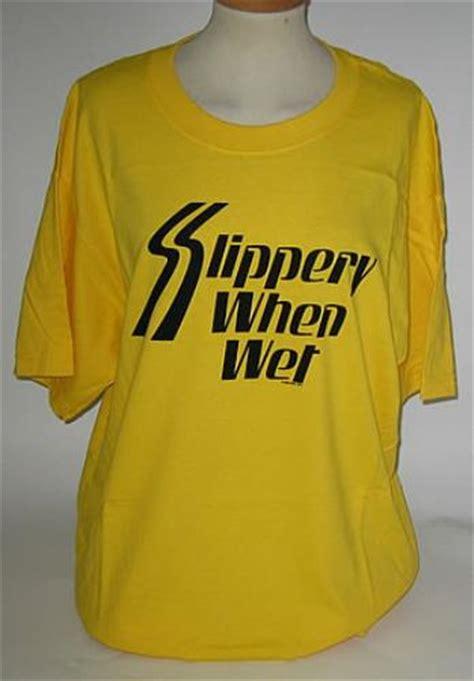 Tshirt Slippery bon jovi slippery when t shirt large uk t shirt 338912