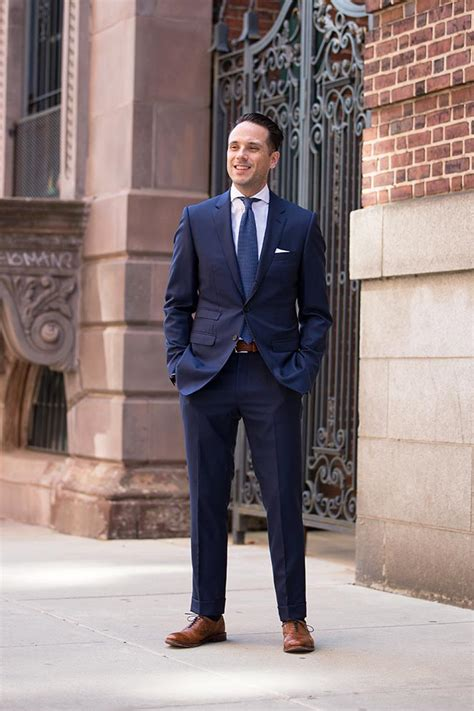 Navy And White Shoes For Wedding by Navy Suits Navy Tie White Shirt Brown Shoes Our