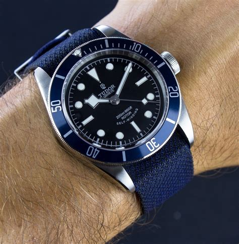 Tudor Heritage Black Bay Blue Watch Review   Page 2 of 2   aBlogtoWatch