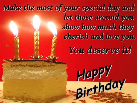 Birthday Quotes For A From Birthday Wishes Love Special Yourbirthdayquotes Com