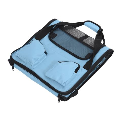 Foldable Travel Booster Bag travel pet carrier bag cage puppy soft crate foldable