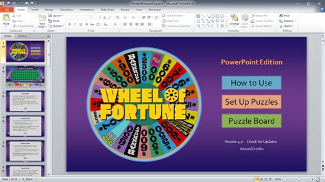 wheel of fortune template for powerpoint free wheel of fortune powerpoint template best puzzle 7