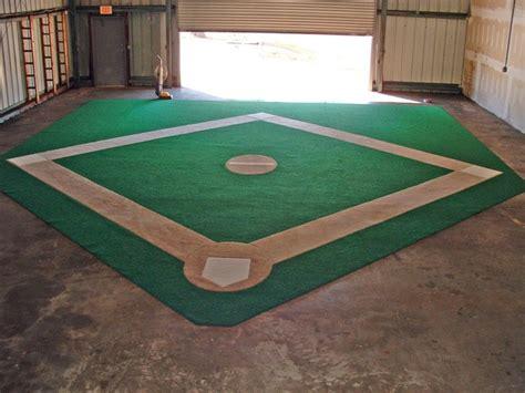 basic baseball diamond trade show rug