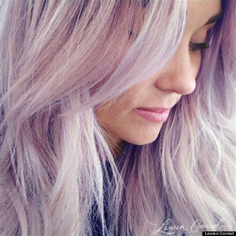 hair color that washes out in a day conrad s new purple hair seems like an april fools