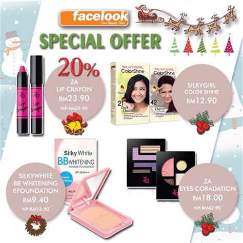 Cosmetics Special Offer by Facelook Special Offer Cosmetic Sale In Malaysia