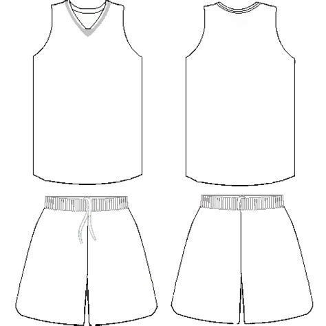 basketball uniform coloring page free basketball jersey template download free clip art