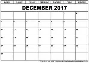 printable calendar templates december 2017 calendar printable printable calendar