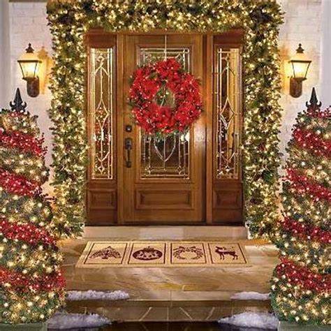 pictures  christmas door decorating latest fashion