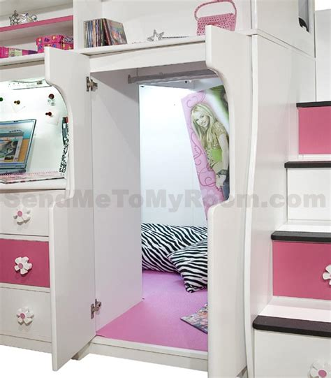 bunk bed with stairs and desk loft bed with desk and stairs berg furniture play