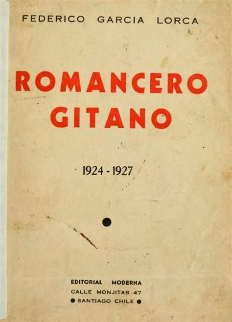 libro romancero gitano los 100 libros que debes leer en tu vida tercera parte