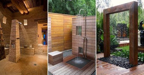 amazing and artistic bathroom designs from deviants rustic 25 amazing unique shower ideas for your home
