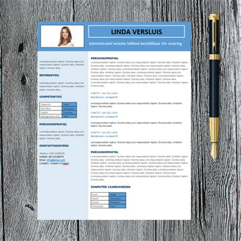 Mooi Cv Sjabloon Mooi Cv Sjabloon Professioneel Template In Word Ms