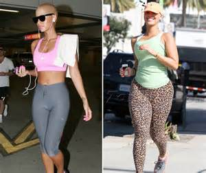 Amber rose before and after plastic surgery galleryhip com the