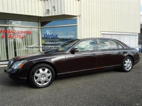 how petrol cars work 2003 maybach 62 security system 2003 maybach 62 partition panoramic sunroof full car photo and specs