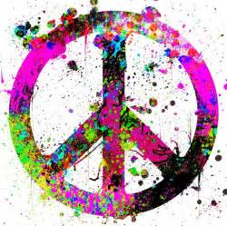 17 Best Ideas About Peace Sign Tattoos On Pinterest Peace Sign With Color On Inside