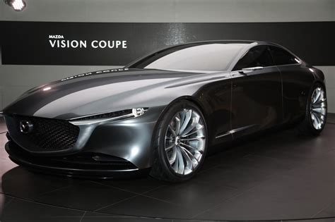 the mazda the mazda vision coupe concept is one gorgeous sedan