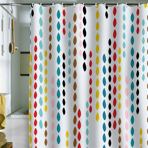 Colorful Shower Curtains Colorful Modern Shower Curtain Home Decorating Trends Homedit