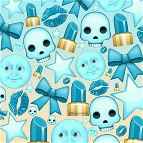 emoji wallpaper blue light blue background image 3148475 par bobbym sur favim fr