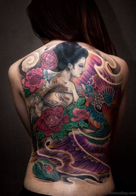 geisha girl tattoo design 70 new styles geisha tattoos designs for back