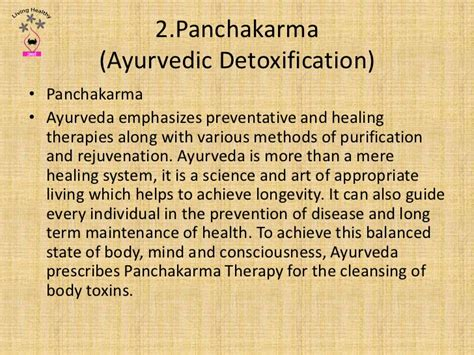 Ayurvedic Detox Panchakarma by Stress Management The Ayurvedic Way
