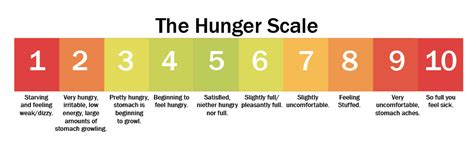 Health The Hunger Scale by Weekend Binger Beware Healthy Lifestyle Tips Nutrition