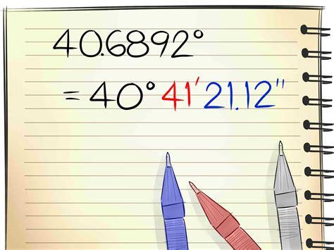 converter longitude latitude how to convert latitude and longitude units from decimal
