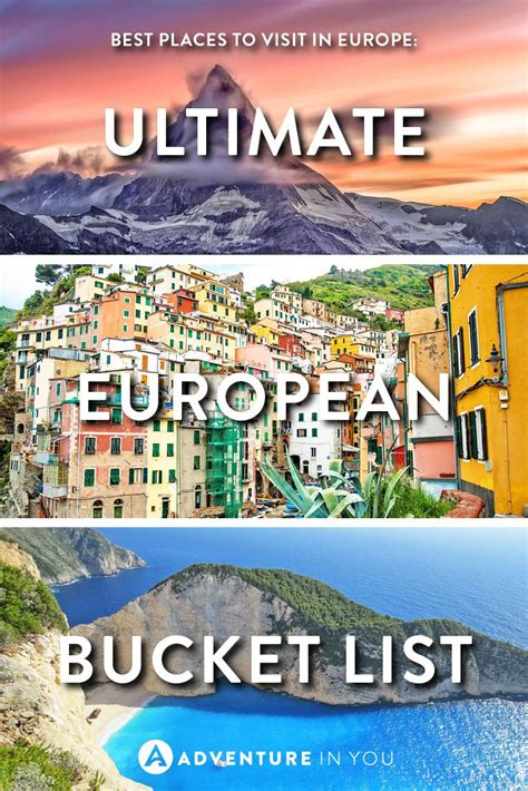 best european tours best places to visit in europe ultimate european