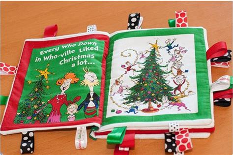 Handmade Taggies - diy soft taggie book from quilt fabric artistic